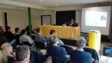 La presentazione al Palalevico in occasione dell'Expo Valsugana Lagorai Laghi